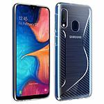 Avizar Coque Transparent pour Samsung Galaxy A20e