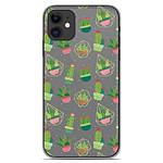 1001 Coques Coque silicone gel Apple iPhone 11 motif Cactus