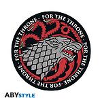 Game Of Thrones -  Tapis De Souris Stark Vs Targaryen En Forme