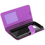 Avizar Etui folio Violet pour Samsung Galaxy S7