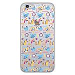 1001 Coques Coque silicone gel Apple iPhone 6 / 6S motif Happy animals