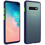 Avizar Coque Bleu Nuit pour Samsung Galaxy S10 Plus