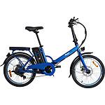 MoovWay Vélo électrique pliable URBAN Bleu