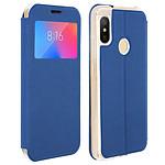 Avizar Etui folio Bleu pour Xiaomi Mi A2 Lite