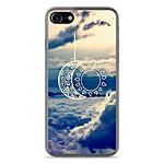 1001 Coques Coque silicone gel Apple IPhone 8 motif Lune soleil