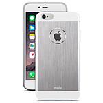 MOSHI Coque aluminium iGLAZE ARMOUR iPhone 6 Plus Silver