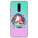 1001 Coques Coque silicone gel Xiaomi Redmi 8 / 8A motif Je suis une licorne