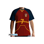 Harry Potter - Maillot de Quidditch homme MC red - Taille XXL