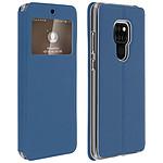 Avizar Etui folio Bleu pour Huawei Mate 20