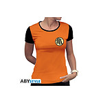 DRAGON BALL - T-Shirt Kame Symbol femme MC orange - premium - Taille L