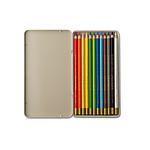Boite de 12 Crayons de Couleur Classic Printworks
