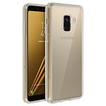 Avizar Coque Transparent Bi-matières pour Samsung Galaxy A8