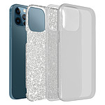 Avizar Coque Argent pour Apple iPhone 12 , Apple iPhone 12 Pro