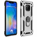 Avizar Coque Argent Bi-Matières pour Huawei Mate 20 Pro