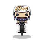 Evel Knievel - Figurine POP! Evel Knievel sur sa moto 18 cm