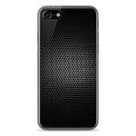 1001 Coques Coque silicone gel Apple IPhone 8 motif Dark Metal