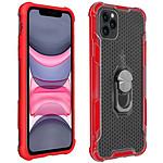 Avizar Coque Rouge Contours Bumper pour Apple iPhone 11 Pro Max