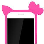 Avizar Bumper Rose pour Smartphones : Longueur entre 105 mm et 152 mm et d'une largeur max de 81 mm