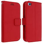 Avizar Etui folio Rouge pour Xiaomi Redmi Go