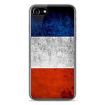 1001 Coques Coque silicone gel Apple IPhone 8 motif Drapeau France
