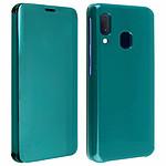 Avizar Etui folio Vert pour Samsung Galaxy A20e
