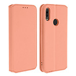 Avizar Etui folio Rose Champagne pour Honor 8A , Huawei Y6 2019 , Huawei Y6S , Honor 8A 2020