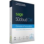 Sage 50cloud CIEL Compta + Facturation - Licence 1 an - 1 utilisateur - A télécharger