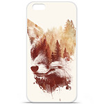 1001 Coques Coque silicone gel Apple iPhone 7 motif RF Blind Fox
