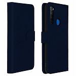 Avizar Etui folio Bleu Nuit pour Xiaomi Redmi Note 8T