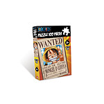 ONE PIECE - puzzle - 100 pcs WANTED Luffy