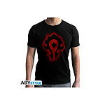 World Of Warcraft - T-shirt Horde - homme MC black - new fit - Taille XL