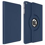 Avizar Etui folio Bleu Nuit pour Apple iPad Air , Apple iPad 9.7 2017 , Apple iPad 5 , Apple iPad 9.7 2018