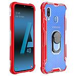 Avizar Coque Rouge Hybride pour Samsung Galaxy A40