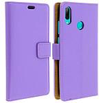 Avizar Etui folio Violet pour Huawei P Smart 2019 , Honor 10 Lite