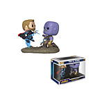 Marvel - Pack 2 Figurines POP! Thor & Thanos 9 cm