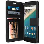Avizar Etui folio Noir pour LG Google Nexus 5X