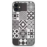 1001 Coques Coque silicone gel Apple iPhone 11 motif Carreaux de ciment