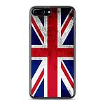 1001 Coques Coque silicone gel Apple IPhone 8 Plus motif Drapeau Angleterre