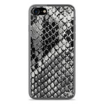 1001 Coques Coque silicone gel Apple IPhone 8 motif Texture Python