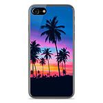 1001 Coques Coque silicone gel Apple IPhone 8 motif Palmiers colorés