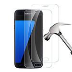 LA COQUE FRANCAISE Vitre Galaxy S7 Samsung transparente Vitre en Verre Trempé
