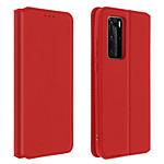 Avizar Etui folio Rouge pour Huawei P40 Pro
