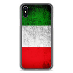 1001 Coques Coque silicone gel Apple iPhone XS Max motif Drapeau Italie