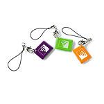 Lot de 3 badges RFID - Alarme Visonic Powermaster