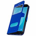 Avizar Etui folio Bleu pour Samsung Galaxy J5 2017