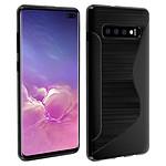 Avizar Coque Noir pour Samsung Galaxy S10 Plus