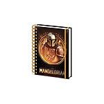 Star Wars The Mandalorian - Cahier à spirale A5 Bounty Hunter