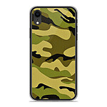 1001 Coques Coque silicone gel Apple iPhone XR motif Camouflage