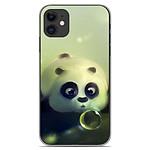 1001 Coques Coque silicone gel Apple iPhone 11 motif Panda Bubble