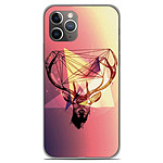 1001 Coques Coque silicone gel Apple iPhone 11 Pro motif Cerf Hipster